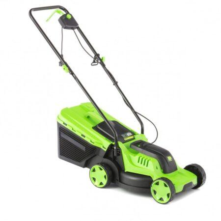 Косачка за трева електрическа L-1200 с кош 30 л Сибртех
