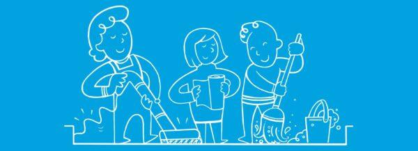 Почистване на дома - домашни потреби